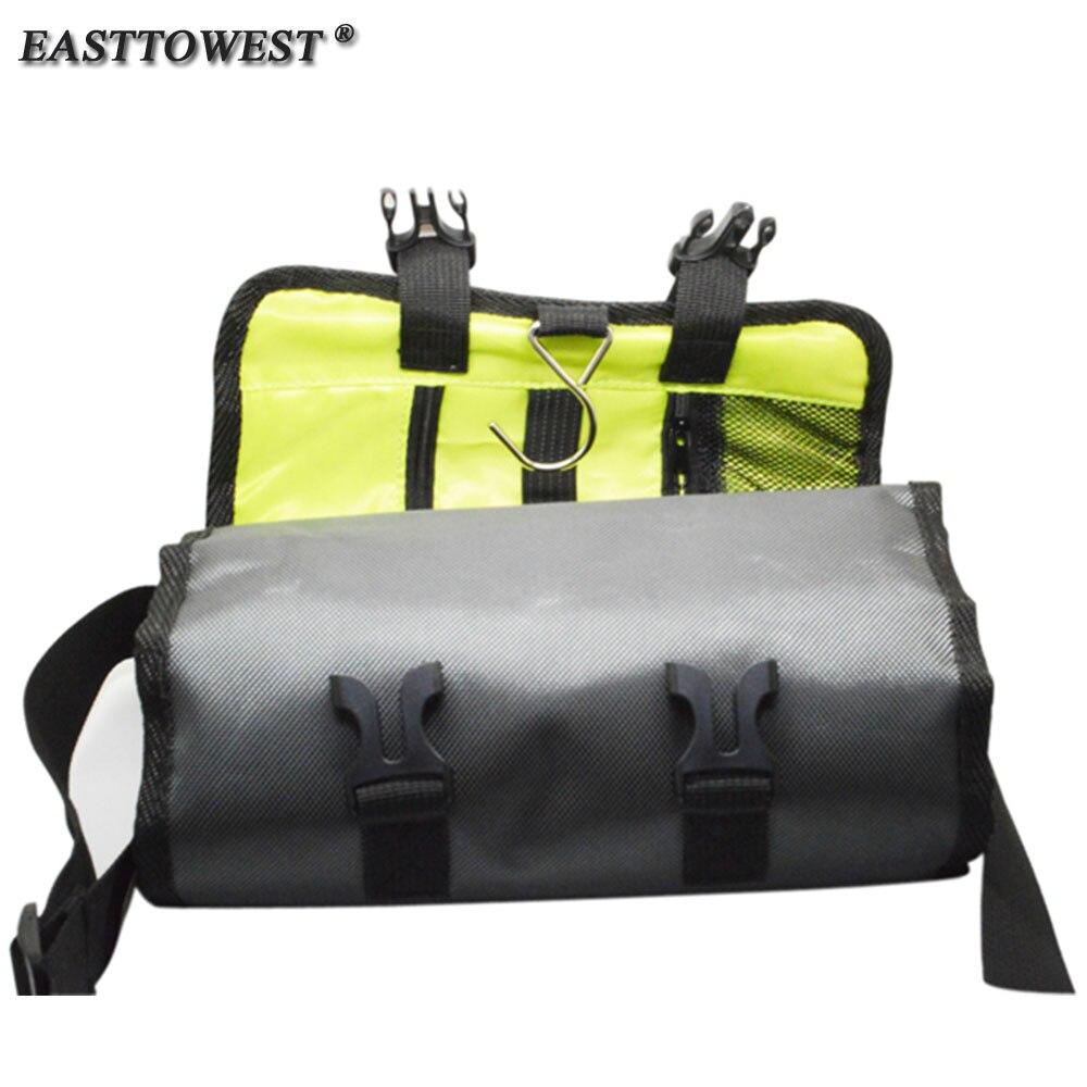 Easttowest sac à bandoulière pliable Sport Action sac à bandoulière étanche pour Go Pro Hero 6 5 4 3 + Yi 4 k Sjcam accessoires
