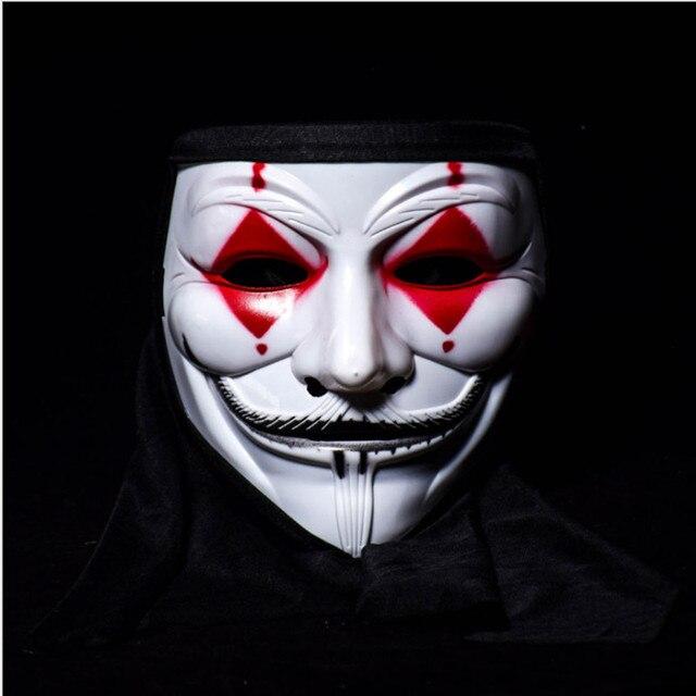 Halloween Horror V Vendetta Mask Clown Ghost Skull Stage Hip Hop