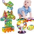 Mini 115Pcs/Set Models & Building Toy Magnetic Designer Educational Building Blocks Plastic Assemble Enlighten Bricks Kids Toys