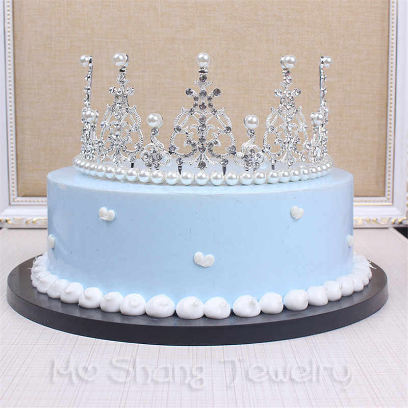 Wondrous 2018 Luxury Wedding Bridal Crystal Tiara Crowns Princess Queen Funny Birthday Cards Online Amentibdeldamsfinfo