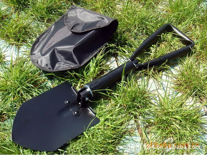 Multifunctional shovel Spade Survival Emergency Tools folding Large scale engineer Outdoor Camp Tactical gardening shovel