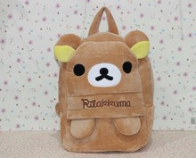 rilakkuma plush backpack rilakkuma school bag rilakkuma bear shoulder bag best gift for children