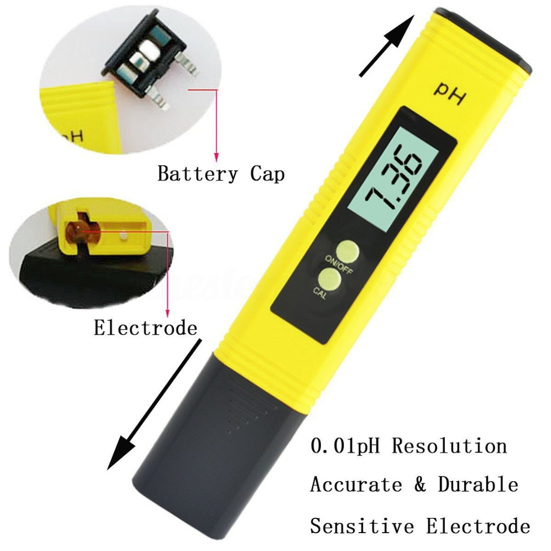 цены Digital PH Meter Tester PH Tester LCD Pen Monitor for Pool Aquarium Water Urine Wine PH Tester LCD Pen