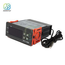 STC-1000 24V LED Digital Temperature Controller Thermoregulator Thermostat With Heater And Cooler For Incubator stc 1000 digital led temperature controller thermostat thermometer thermo control thermoregulator for incubator sensor dc24v 10a