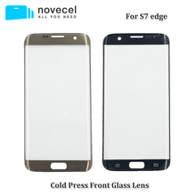 "Novecel AAA Quality G935 G928 Front Glass Lens For Samsung Galaxy S7 Edge 5.5"" LCD Touch Screen Panel replacement"
