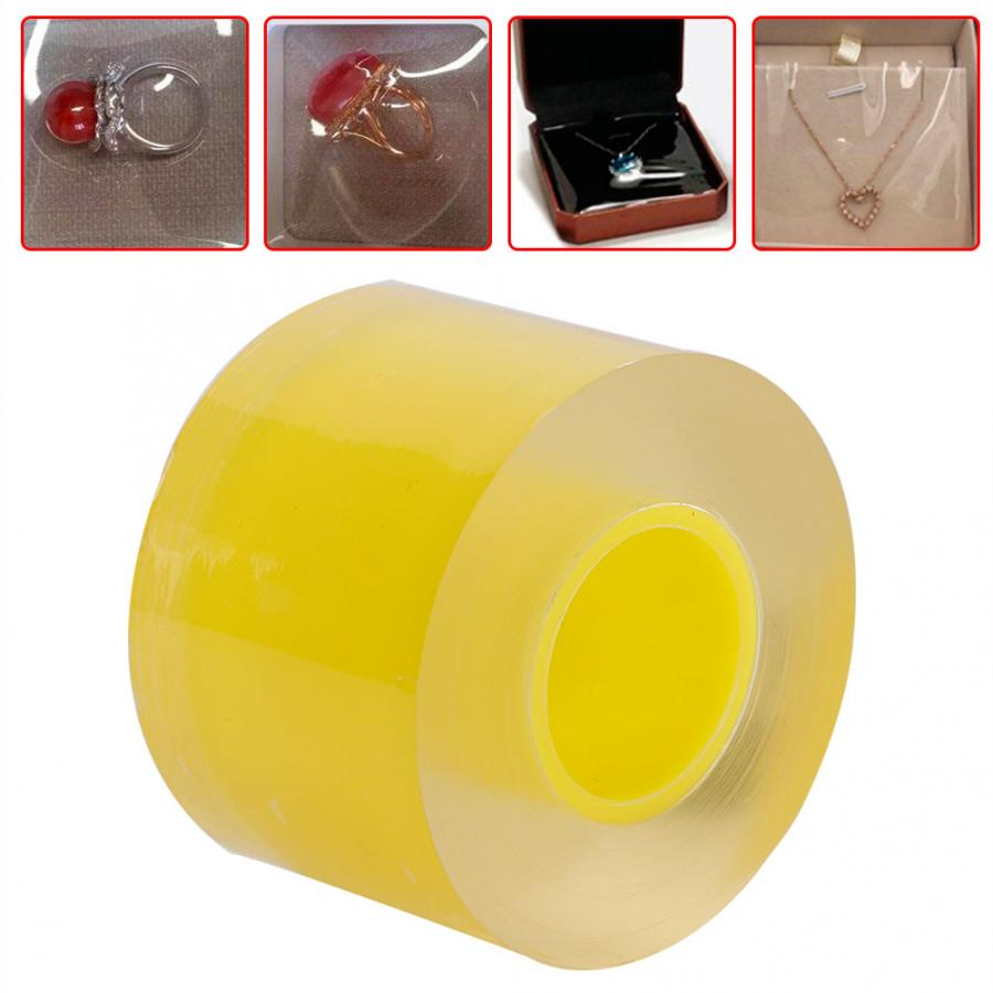 Professional 50MM Transparent Anti-Static Protective Watch Jewelry Film Tape Watch Part Repair Accessory Tool for Watchmaker a
