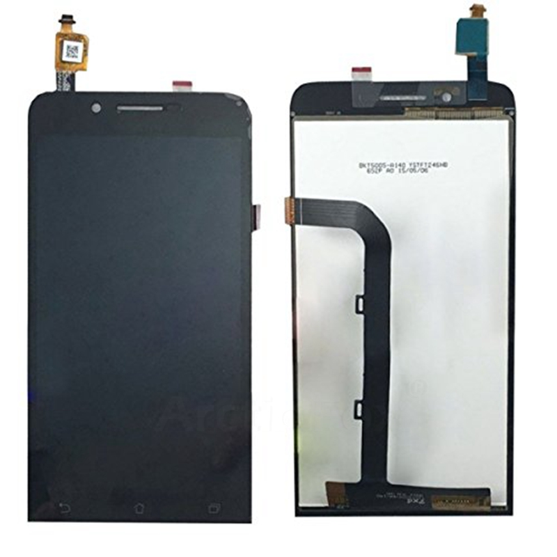 ФОТО 100% No Dead Pixel For Asus Zenfone Go ZC500TG 5.0 inch LCD Display with Touch Screen Digitizer Assembly