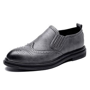 Image 3 - 2020 chaussures habillées pour hommes faites à la main Style richelieu Paty cuir chaussures de mariage en cuir chaussures formelles Oxfords