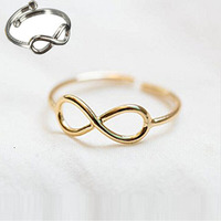 Retro Toe Ring Simple Sliver Golden Plated Foot Jewelry 1