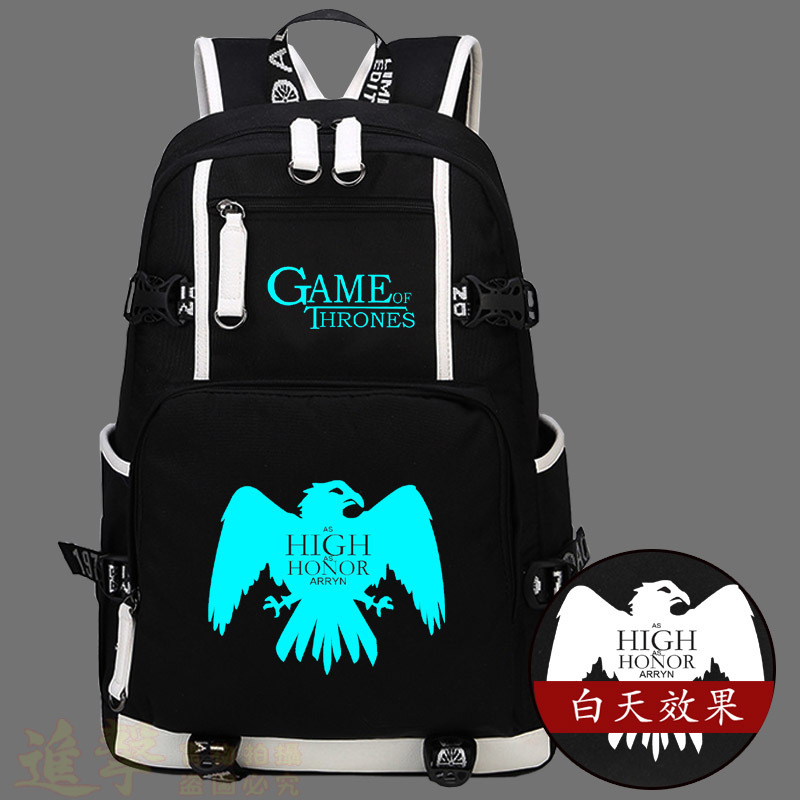 2017 New Game of Thrones School Backpack Bags Cosplay Ice and Fire Student Bag Men And Women Shoulders Laptop Travel Backpacks new game of thrones anime ice and fire backpack shoulder school bag package cosplay 45x32x13cm