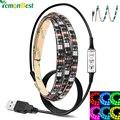 USB Conduziu a Luz de Tira 80-90LM/W RGB/Quente/Frio Branco SMD 5050 Luz de Tira CONDUZIDA IP65 À Prova D' Água corda Lâmpada 2 m/1 m/0.5 m