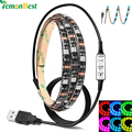 USB Led Strip Light 80-90LM/W RGB/Warm/Cool White SMD 5050 LED Strip Light Waterproof IP65 String Lamp 2m/1m/0.5m