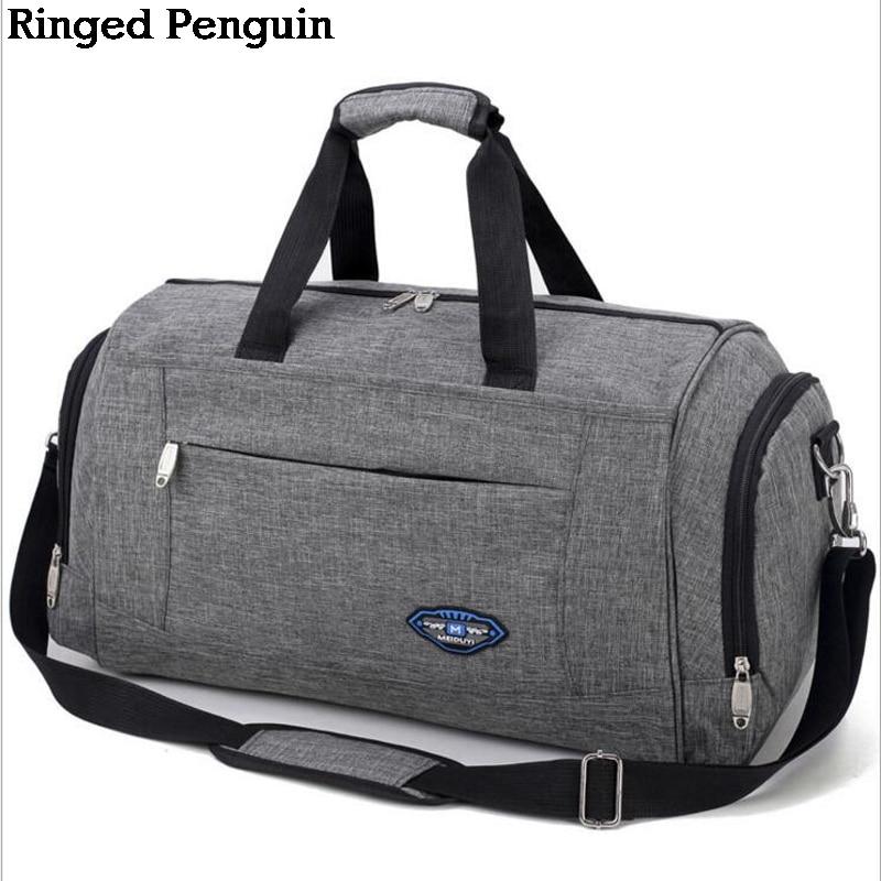 7ced799901a5c Ringed Penguin Torba podróżna męska Weekend Torba bagażowa męska ...