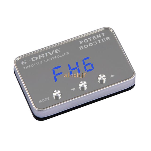 TROS Potente Reforço II 6-Drive Controlador Eletrônico Do Acelerador, Ultra-fino, TS-708 Caso para Acura TL, RL, MDX etc