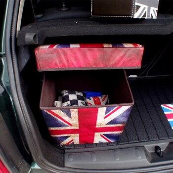 Car Trunk Folding Organizer Cargo Container Box For Mini Cooper S JCW Countryman Clubman F55 F56 F60 R55 R56 R60 R61 Car Styling