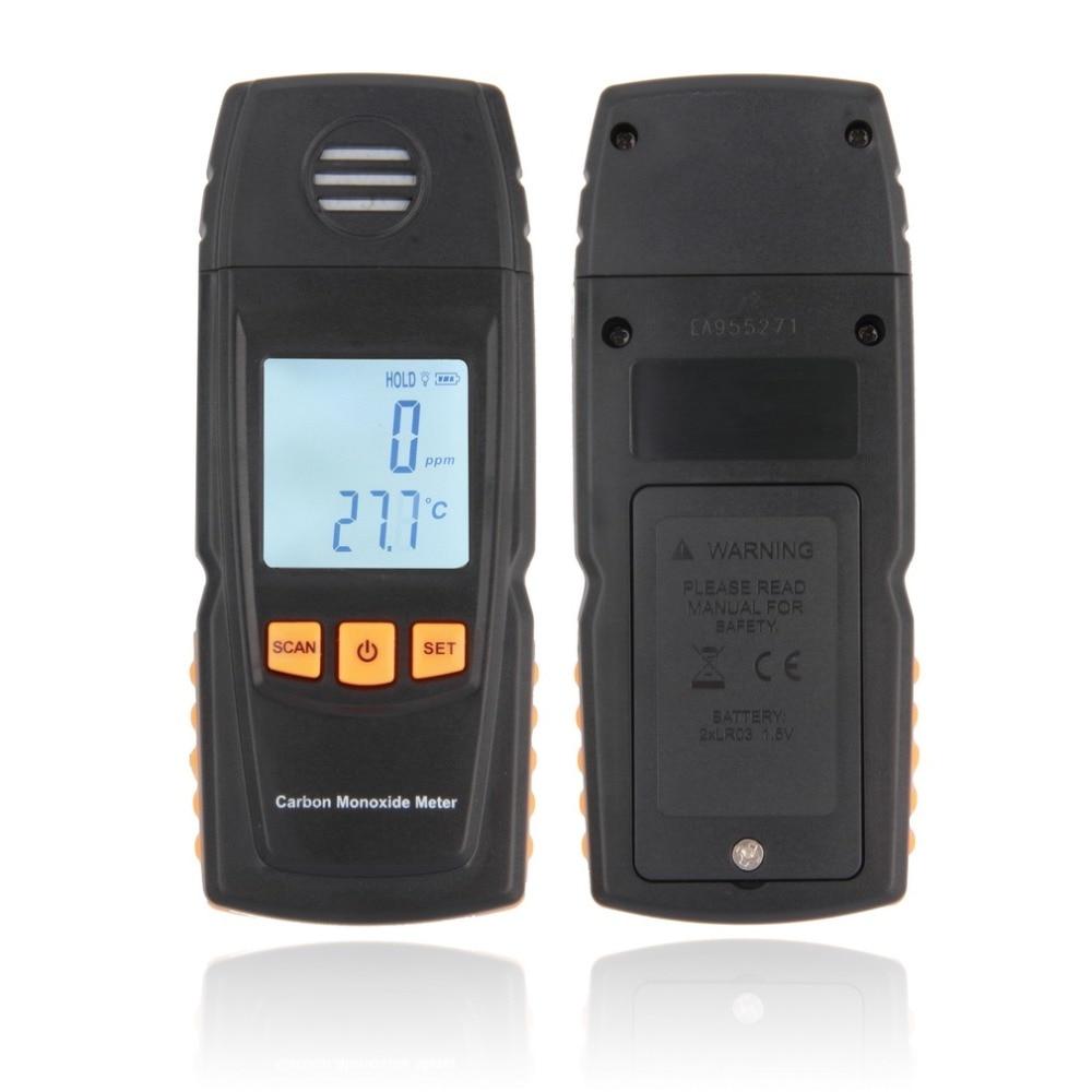 GM8805 Handheld Carbon Monoxide CO Monitor Detector Meter Tester 0-1000ppm