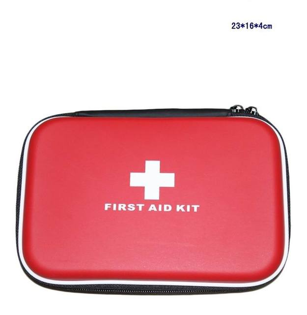 33 pçs/set seguro Outdoor Wilderness Survival Kit de primeiros socorros curso Camping caminhadas emergência médica Kits de tratamento conjunto pacote FAK-S04