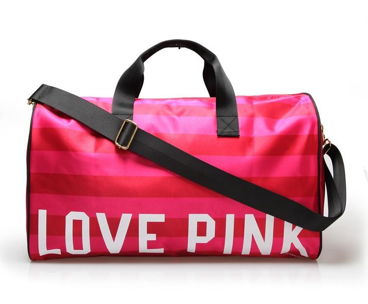 2015 VS LOVE PINK Large Sport Bag For Women Sports Ladies Brand Kim Kardashian Loved Casual Gym Bags Beach Yoga On Aliexpress