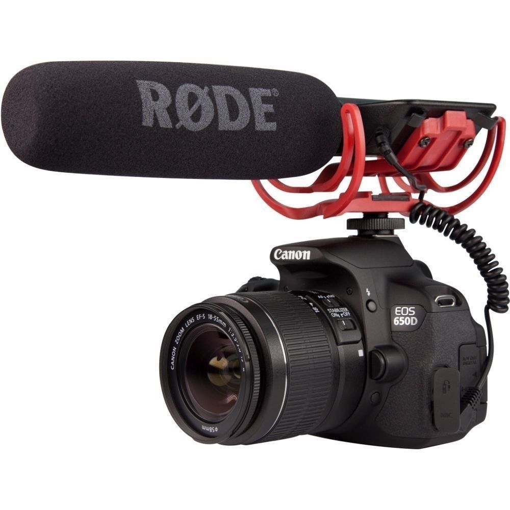 Professional Rode VIDEOMIC Camera Mounted Microphone for Canon Nikon Sony DSLR DV Camcorder for Digital Camera штатив canon dv
