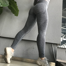 купить Yoga Pants Leggings Sport Women Fitness Running Sportswear Stretchy Fitness Leggings Seamless Gym Compression Tights Pants дешево