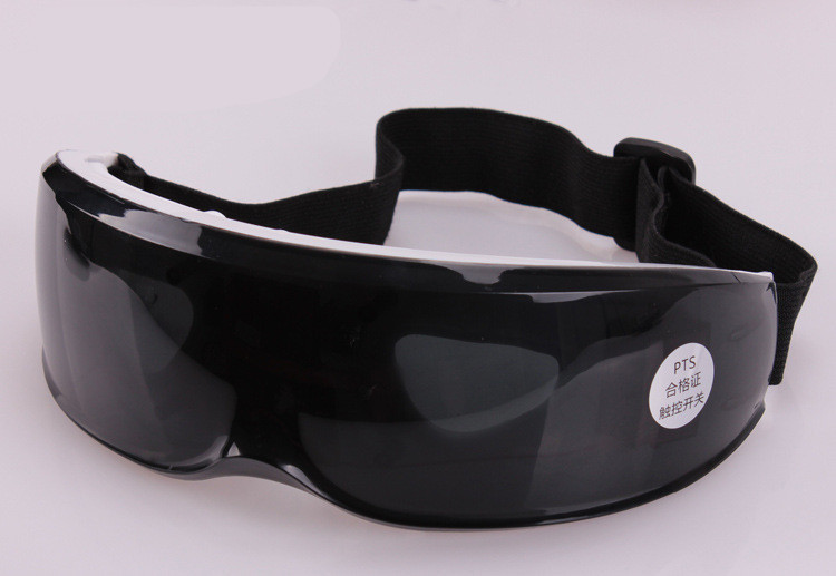 все цены на Electric Forehead Eye Massager sleeping eye mask USB Migraine DC Electric antifaz para dormir blindfold Touch Switch Massager онлайн