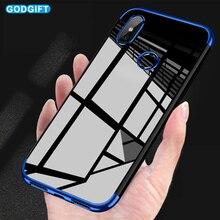 GodGift Xiaomi Redmi Note 6 Pro Case Luxury Plating Silicone Soft TPU Cover For Xiomi Redmi Note 6 Pro 6A Back Cover Phone Cases