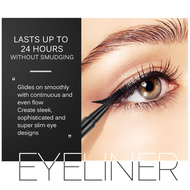 BANXEER Eyeliner Waterproof Liquid Eyeliner Make Up Beauty Cosmetic Long-lasting Eye Liner Pencil Makeup Tools For Women 1