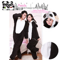Free Shipping Panda Cosplay Costume Suits Onesie Couple Pyjamas Pajamas Sleepwear Party One Piece
