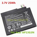3.7V 25Wh 6800mAh New Genuine Original AP13G3N laptop Battery For Acer Iconia W3-810 Tablet 8' Series