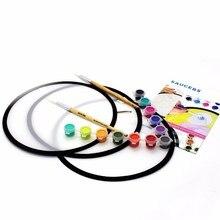 Купить онлайн 1 шт. уникальные работы из круглого диска ребенка собственное искусство создания художественные кисти инструментов художника поставок живопись WH15