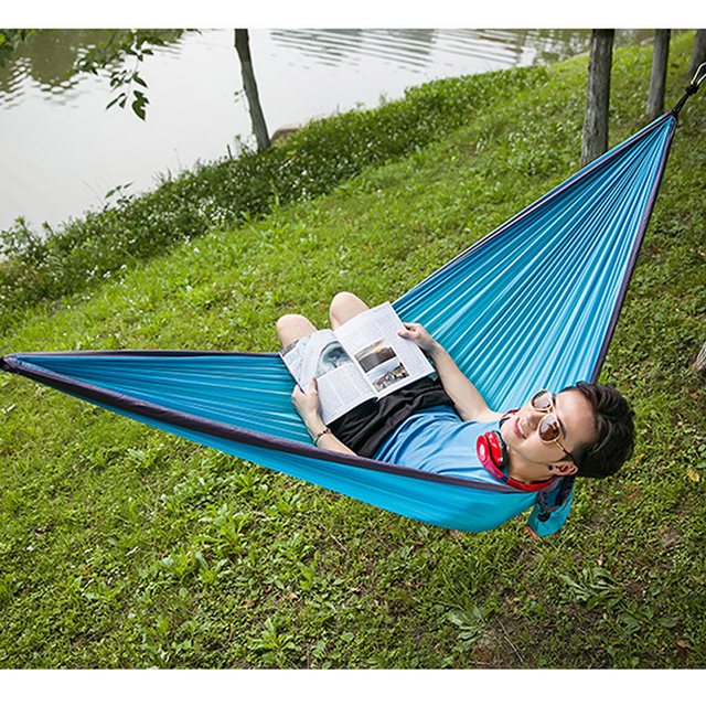 image online shop portable camping hammock parachute cloth hammock for      rh   m aliexpress