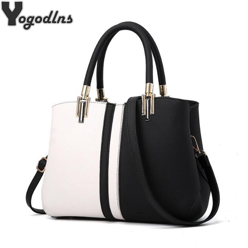 Women Shoulder Bags 2019 Fashion Female Leather Handbags Large Capacity Tote Bag Casual PU Leather Crossbody Messenger BagWomen Shoulder Bags 2019 Fashion Female Leather Handbags Large Capacity Tote Bag Casual PU Leather Crossbody Messenger Bag