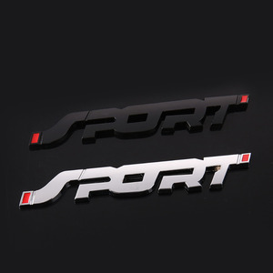 Image 5 - 3D Metal Car Trunk Racing SPORT Emblem Accessories Sticker For Chevrolet Cruze Aveo Lacetti Captiva Cruz Niva Spark Orlando