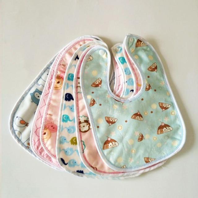3Pcs Baby Bibs Bandana Waterproof 100% Cotton High Quality Babadores Burp Saliva Towel Cartoon Boys Girls Accessories Clothing