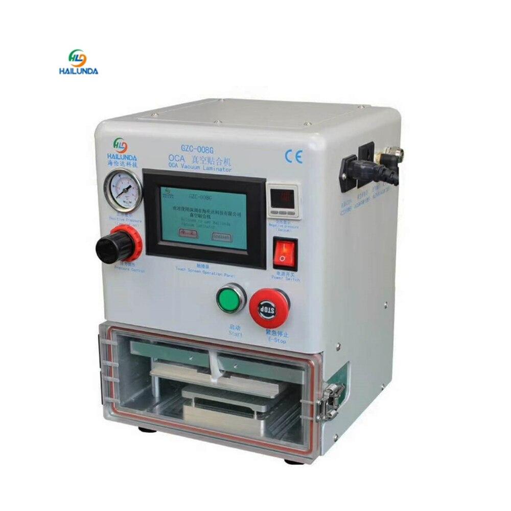7 inch Mini OCA Lamination Machine LCD Laminating Machine for Samsung dege for iPhone 8 X