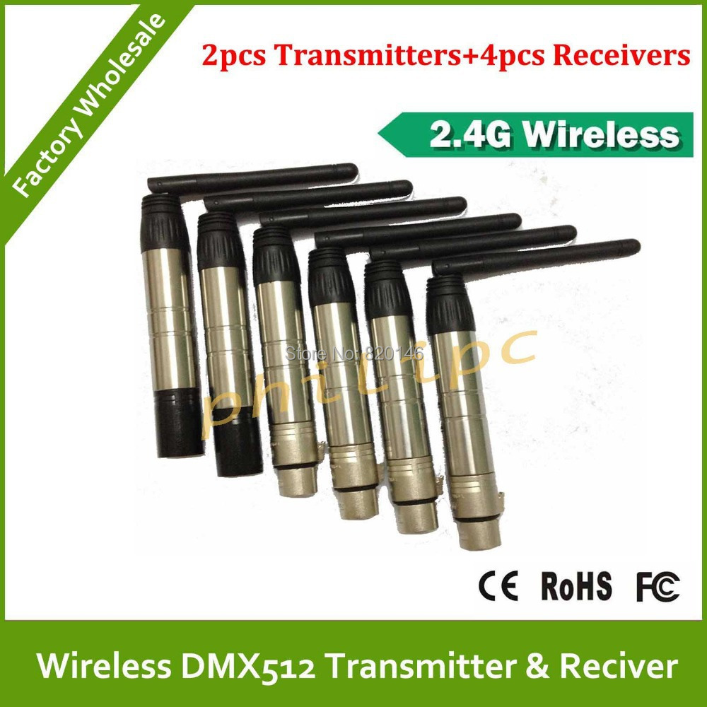 DHL Fast Free Shipping wireless dmx512 receivers,led moving head light wireles kit,Wireless dmx console dmx controller dhl free shipping 2016 black wireless dmx512 controller