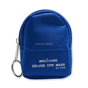 Image 4 - 100 Pieces CPR Emergency Mini First Aid Kits With Keys Chian Contain Protect Mask And Gloves Swabs For First Aid Training