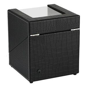Image 3 - Автоматическая двойная коробка под кожу крокодила из белого углеродного волокна