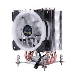 Lanshuo Pure Copper 4 Radiator termiczny do procesora Lga/1150/1151/1155/1156/1366 Intel multi platform Cpu Radiator 3 w Wentylatory i akcesoria do chłodzenia od Komputer i biuro na