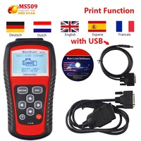 Autel MaxiScan MS509 OBD2 Engine Fault Diagnostic Scanner Auto Code Reader MS509 OBDII Code Readers & Scan Tools