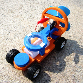 Science Education Toy Children DIY Wind Propulsion Motor Racing Experimental Model Material