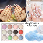 6/12PCS Nail Crystal...