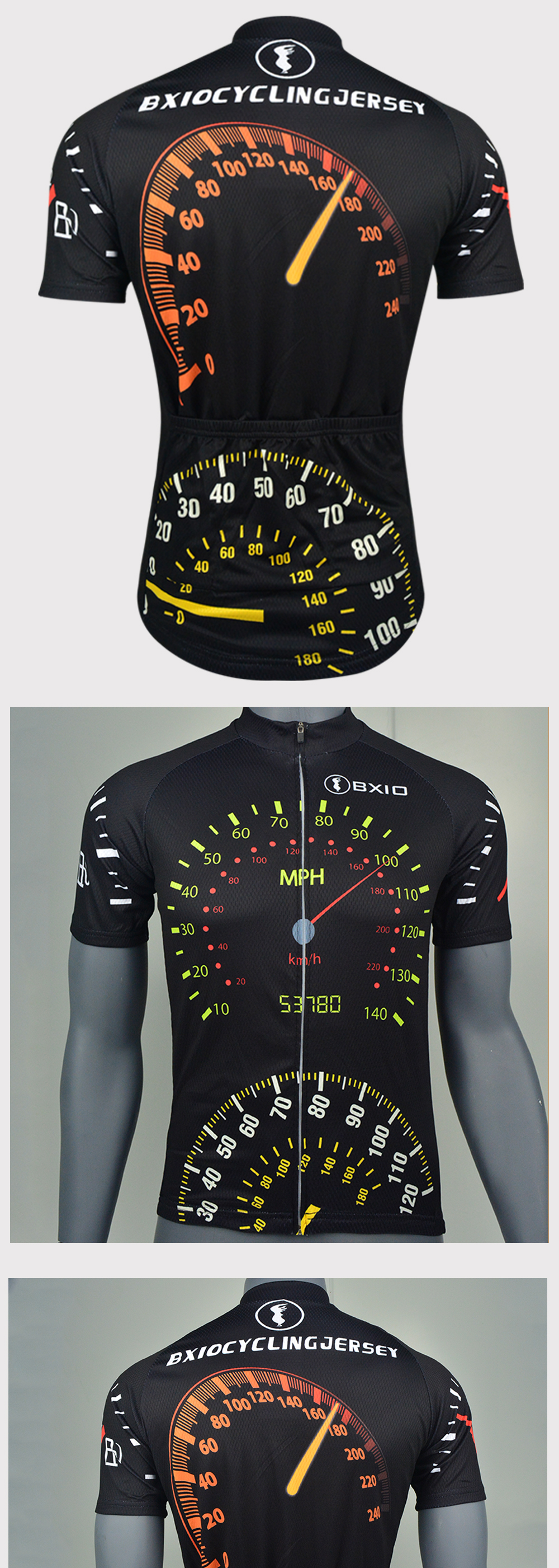 ⑥Hot Bxio Brand Cycling Jersey 2018 Sport Bike Jerseys Short Sleeve ... 19b4ce587