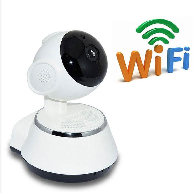 Mini HD 720P WiFi Wireless Pan Tilt CCTV Network Home Security IP Camera IR Night Vision Baby Monitor Camera wanscam hw0021 hd 720p wireless wifi ip camera baby monitor ir night vision built in mic pan tilt for android