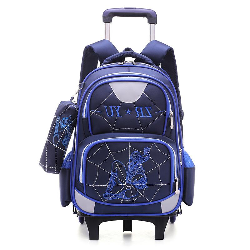 High-quality boy knapsack Climb the stairs luggage spiderman cartoon 5-10 year kids school bag students Children travel backpackHigh-quality boy knapsack Climb the stairs luggage spiderman cartoon 5-10 year kids school bag students Children travel backpack