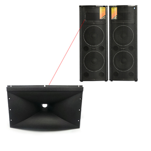 Image 5 - Speaker Tweeter Treble Horn Accessories Plastic 375*220 For Console Mixer Professional Audio DJ Home Theater