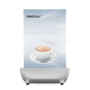 Image 5 - SINGCALL Calling  System waiter call button, white call pager with 5 keys entertainment places buttons