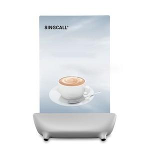 Image 5 - Singcall hệ thống gọi điện thoại nút gọi bồi bàn, trắng cuộc gọi máy nhắn tin với 5 phím nơi vui chơi giải trí nút