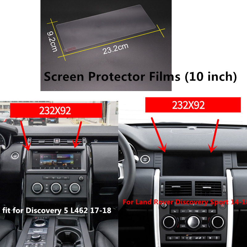 For Land Rover Discovery Sport 14-18 / Discovery 5 L462 17-18 Sticker Accessories Car GPS Navigation Screen Protector Films