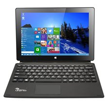 Dragon Touch i10X 10.1 inch 64 GB Windows 10 Laptop Tablet Intel Quad Core 2-in-1 Notebook IPS Screen with Detachable Keyboard